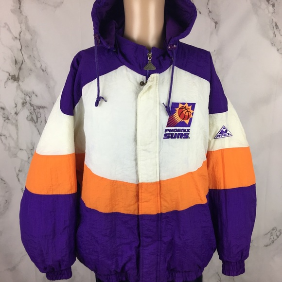 0c87323853cb17 Vintage Jackets & Coats | Phoenix Suns Apex One Nba Coat | Poshmark